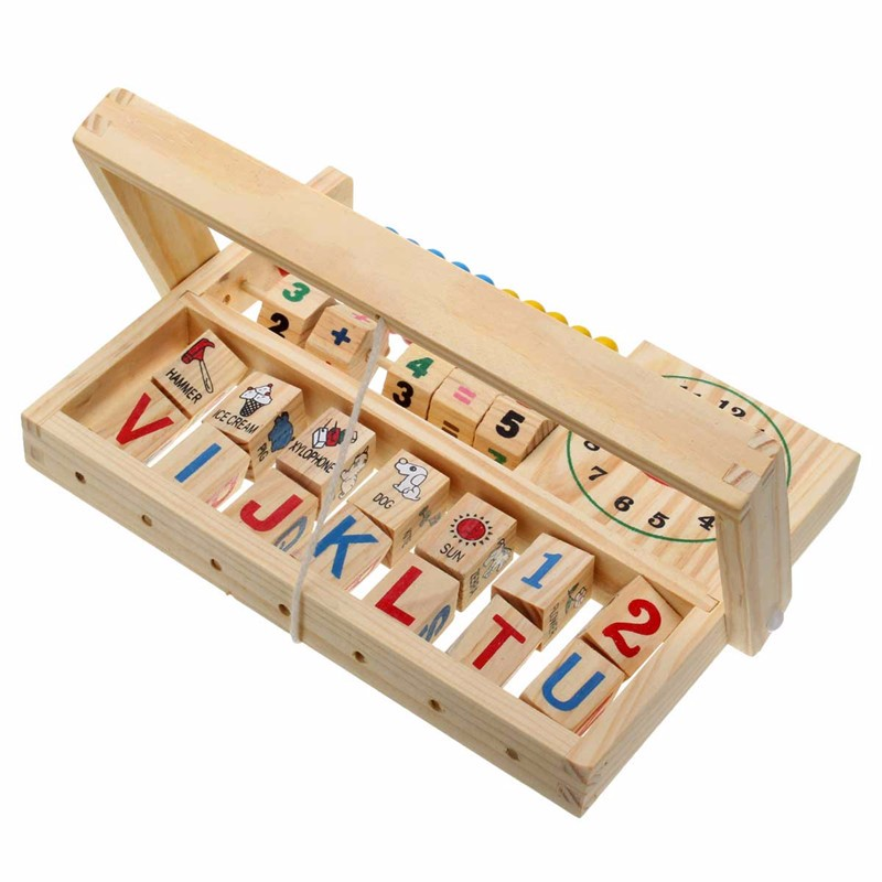 Wooden New Multi-Purpose Computation Frames Versatile Flap Abacus - Photo: 5