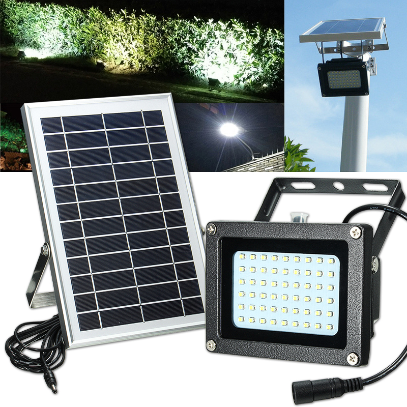 Solar Lights Za: Solar Powered 54 LED Waterproof Outdoor