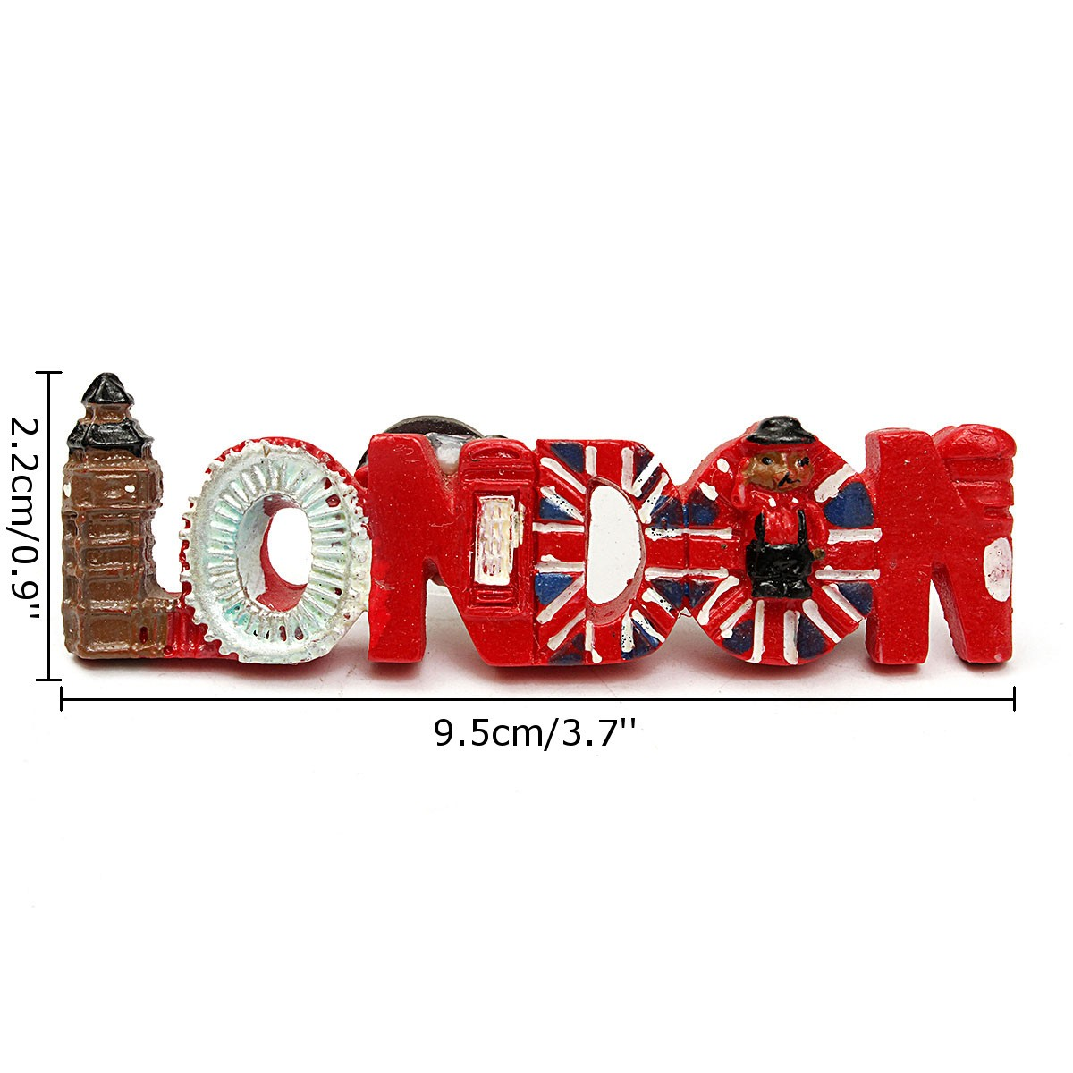 3D Resin Tourist Travel Souvenir Craft Fridge Magnet United Kingdom UK London - Photo: 5