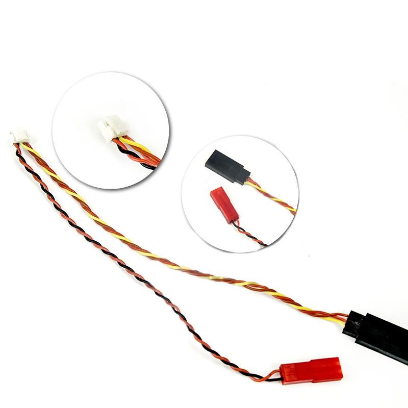 JST-GH 1.25mm 5P TO JST Female 2P TJC8 3P 2.54mm FPV AV Cable For Transmitter Receiver TBS