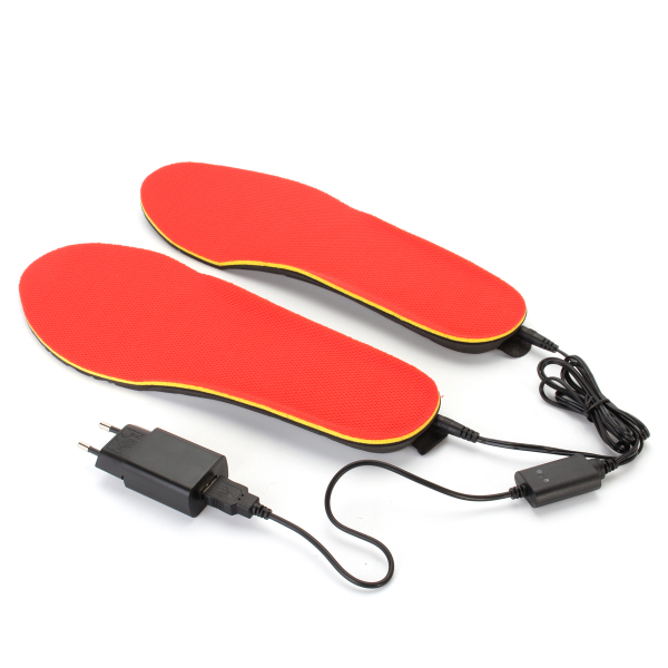 3.7V 1200mAh Electric Heated Shoe Insoles Foot Warmer H