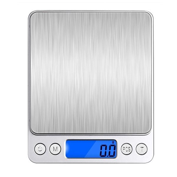 Honana HN-MS1 2000g 0.1g Mini Multi-unit Conversion Digital Electronic Kitchen Scale Pocket Jewelry