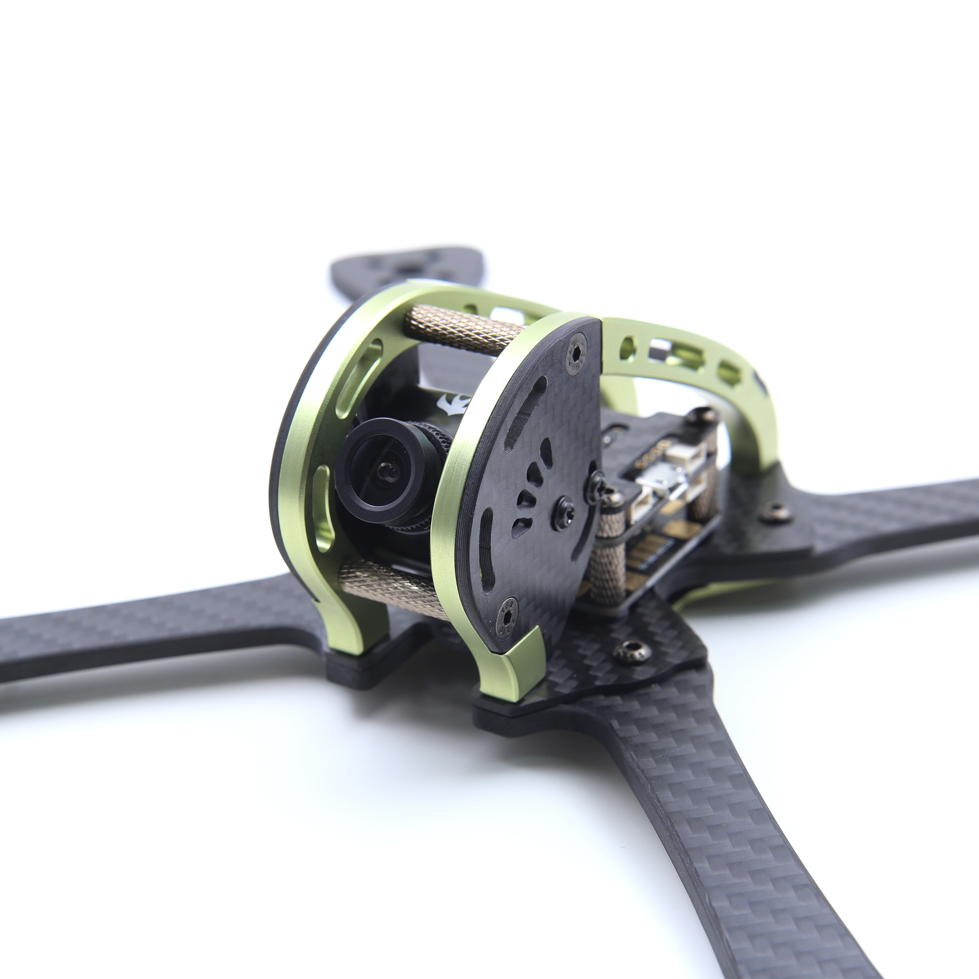 GEPRC GEP LX Leopard Purple Green Edition LX5 220mm FPV Racing Frame 4mm Arm With PDB 5V & 12V