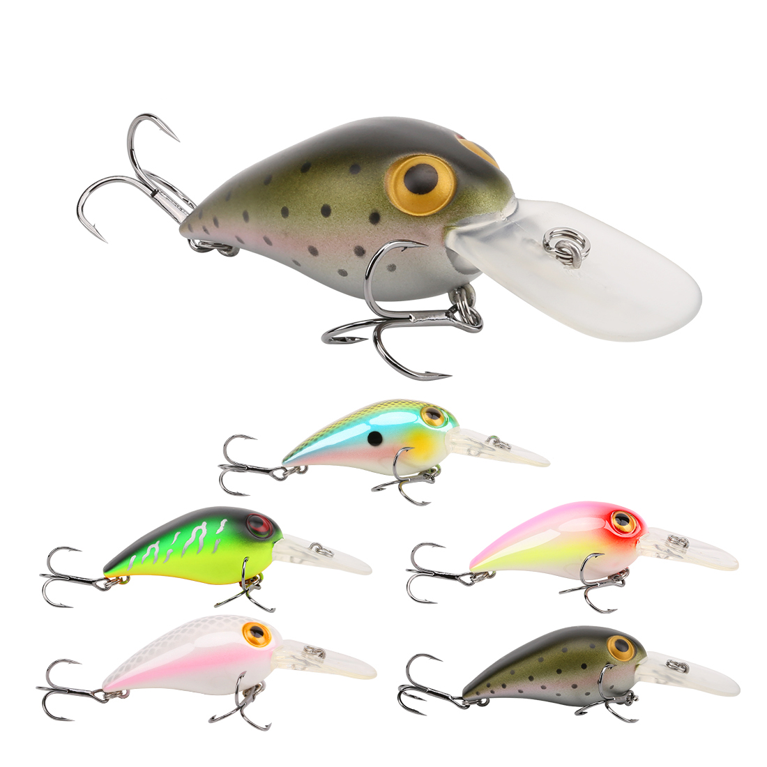 SeaKnight SK002 1PCS Crankbaits 11g 50mm Hard Fishing L
