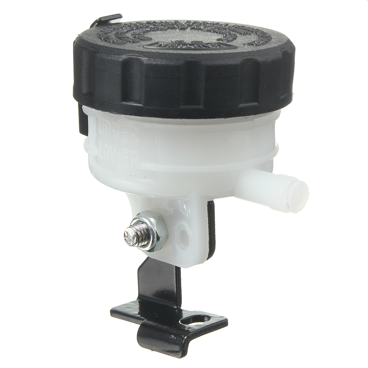 Motorcycle Brake Clutch Oil Pump Cup Reservoir Fluid Bottle
