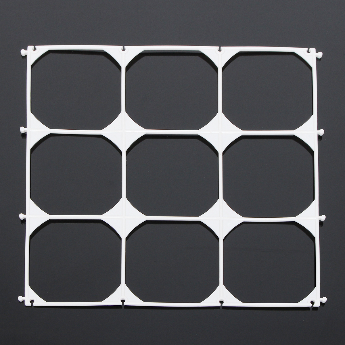 10Pcs Balloon Grid Frame Square 9 Grids Modeling Party