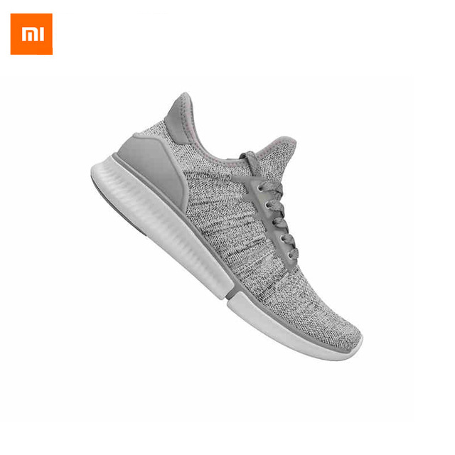 Xiaomi Mijia Smart Shoes 2mm High Elastic Knitting Uppers Fishbone Bionic Structure TPU Inside Man Sports Shoes