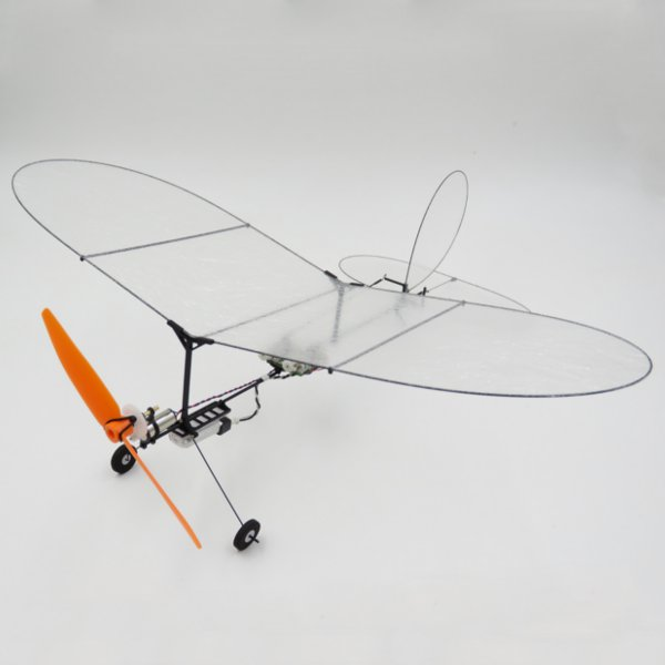 TY Model Black Flyer V1.1 Carbon Fiber Film RC Airplane With Power System - Photo: 1