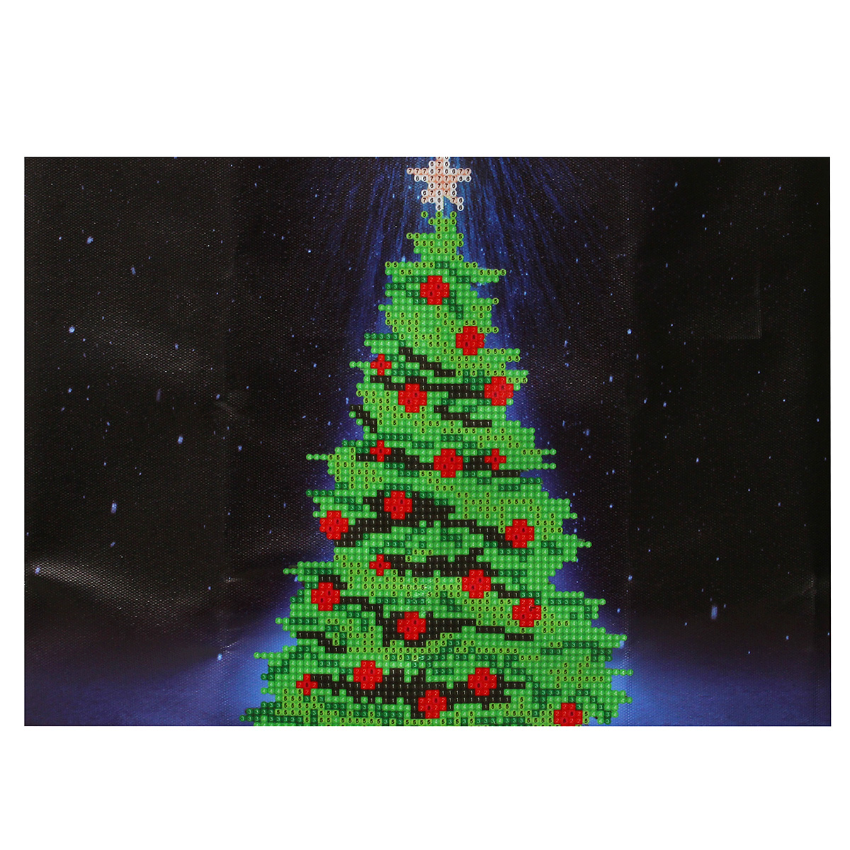 40x30CM 5D Diamond Painting Christmas Tree Embroidery DIY Home Decor ...