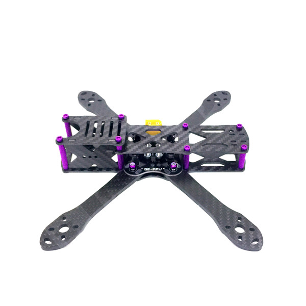 GE-5 210mm 4mm Arm Thickness Carbon Fiber Frame Kit with PDB for FPV Racing - Photo: 3