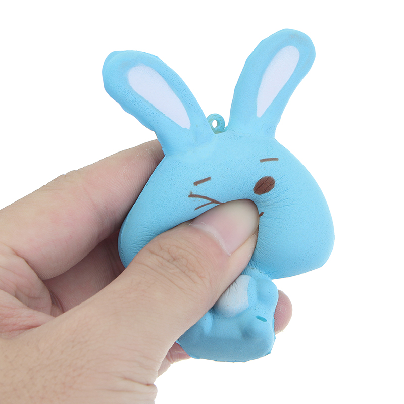 Squishy Rabbit Bunny 8cm Soft Slow Rising Phone Bag Strap Decor Collection Gift Toy Alex NLD
