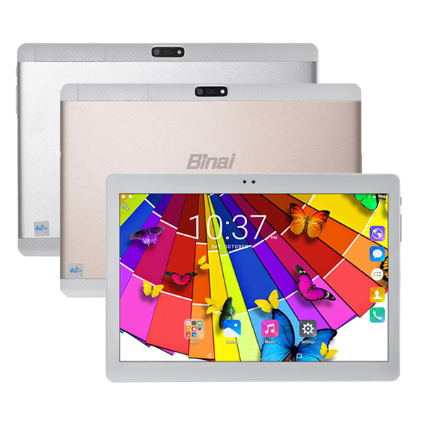 Binai Mini10 32GB MTK6735 Quad Core 10.1 Inch Android 6.0 Dual 4G Phablet Tablet