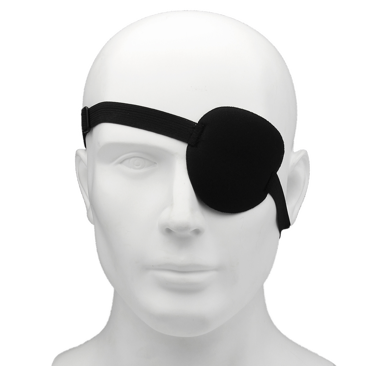 Concave Eye Patch Groove Washable Eyeshades With