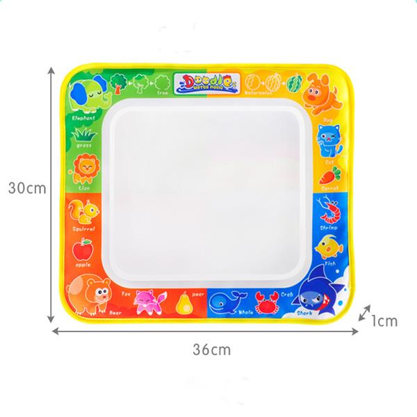 Magic Watercolor Graffiti Painting Writing Blanket Puzzle Intelligence Children Toys - Photo: 3