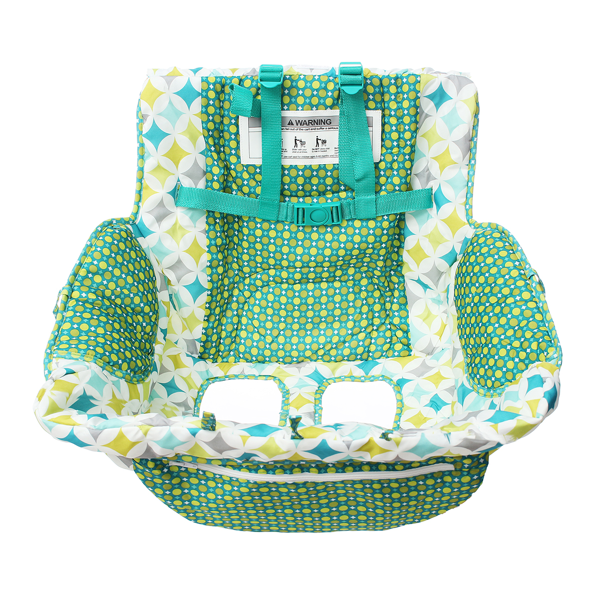 Fodable Baby Shopping Cart Cushion Kids Trolley Pad Shopping Push Cart Protection Cover Baby Chair