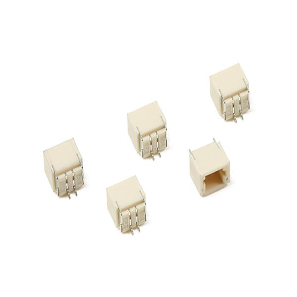 Thin Extension Lead : Pcs jst sh mm pin socket horizontal surface mount