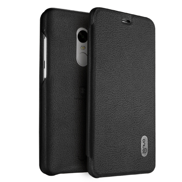 Lenuo Flip PU Leather Card-solt Protective Cover Case For Xiaomi Redmi Note 4