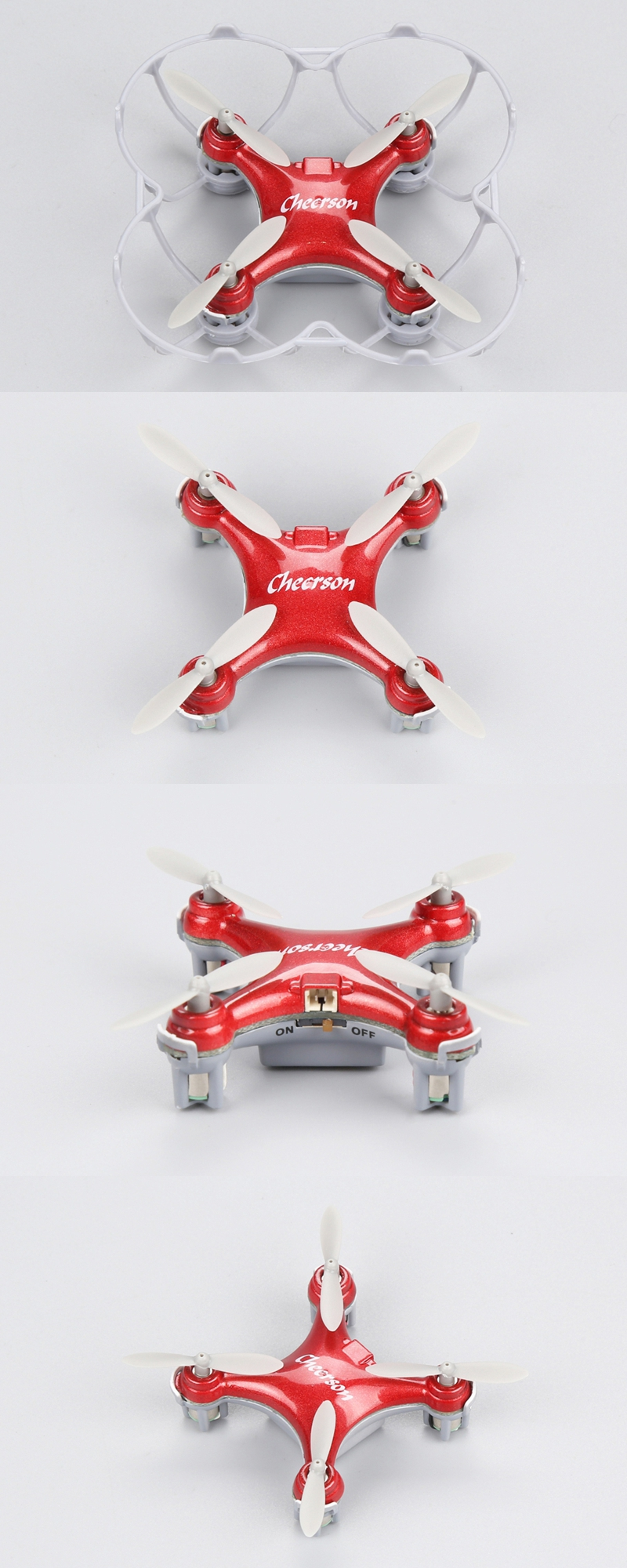Cheerson CX-10SE CX10SE Mini 3D Flips 2.4G 4CH 6 Axis LED RC Quadcopter RTF - Photo: 10
