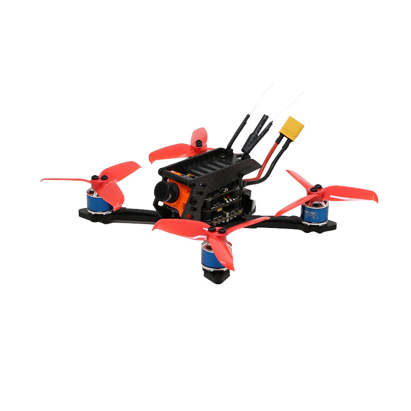 SPC Maker 110VT 110mm Brushless FPV Racing Drone F4 BLheli_S 40CH RunCam Micro Swift 2 600TVL BNF