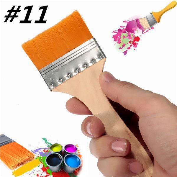 Buy #11 Nylon Paint Brush Artists Acrylic Oil Varnish Brushes Painting