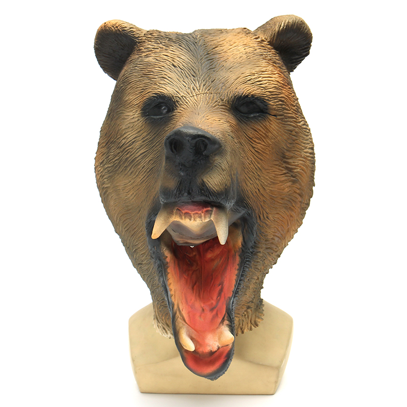 Halloween Masks Black Bear Mask Terror Masquerade Party Mask (Eachine1) Rancho Cucamonga Search b.