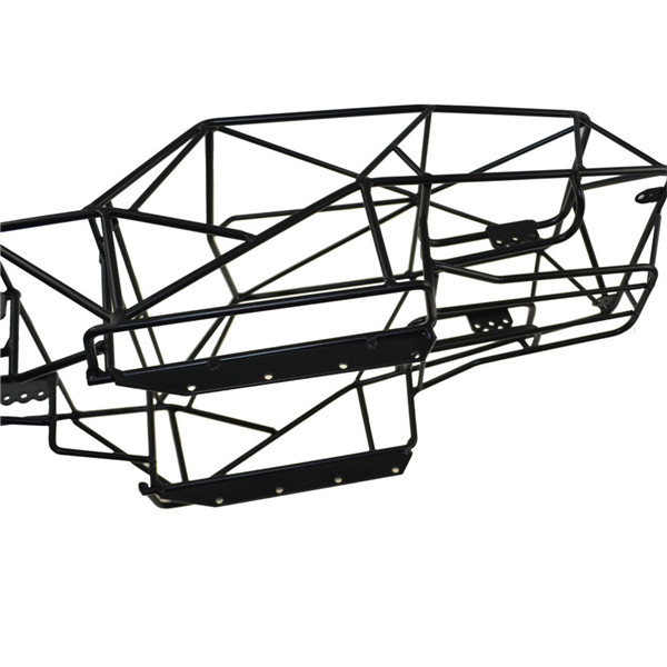 Xtra Speed Metal Steel Frame Body Cage Black For Axial Wraith RC 1/10 Cars Truck