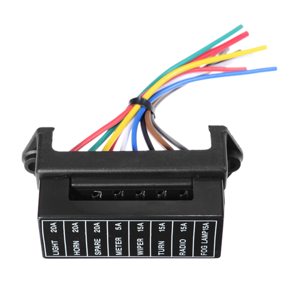 jz jiazhan car way fuse box road wire modification jz5703 jiazhan car 8 way fuse box 8 road wire modification basic block auto fuse
