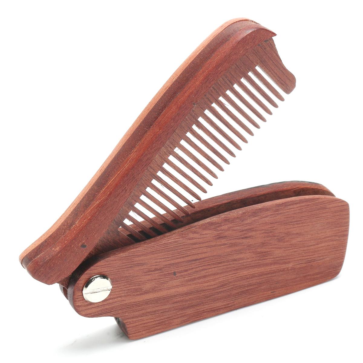 shaving mustache boar bristles beard comb folding wood brush shaping tool grooming care set man. Black Bedroom Furniture Sets. Home Design Ideas