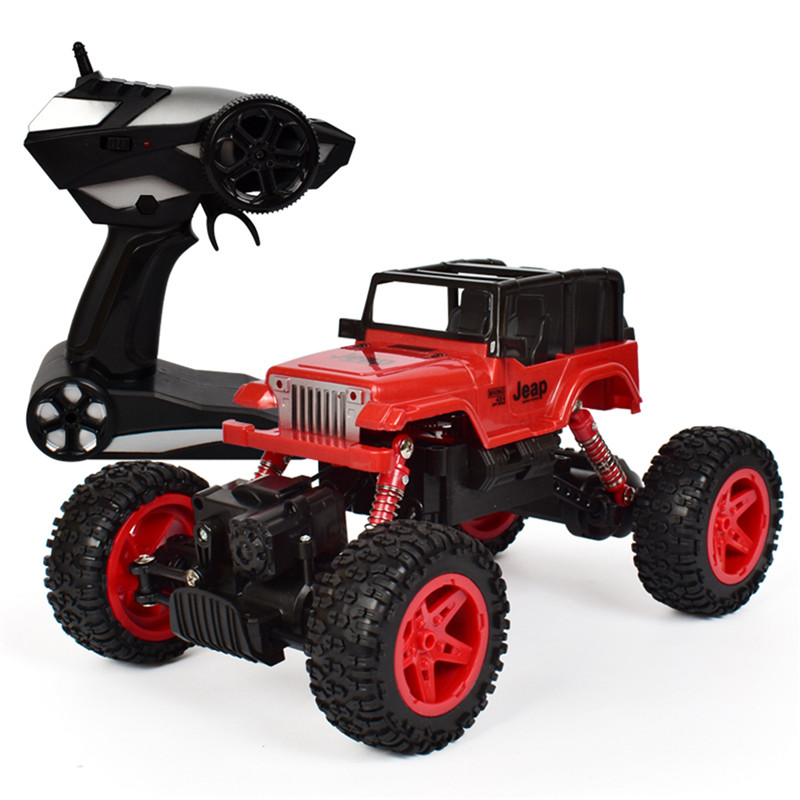 2.4Ghz 1/18  4WD 10 km/H RC Rock Crawler Car Truck Off-Road Vehicle Buggy Remote Control Toy