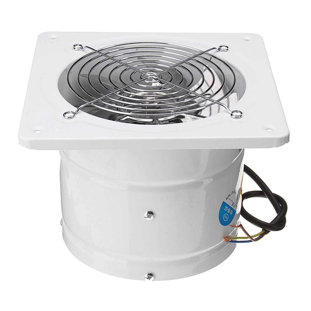 A C Inline Fans : Inch w inline duct booster fan extractor exhaust and