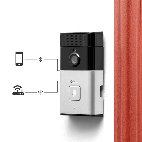 Digoo SB-XYZ Wireless Bluetooth and WIFI Smart Home HD Video DoorBell Camera Phone Ring Alexandria объявления купить