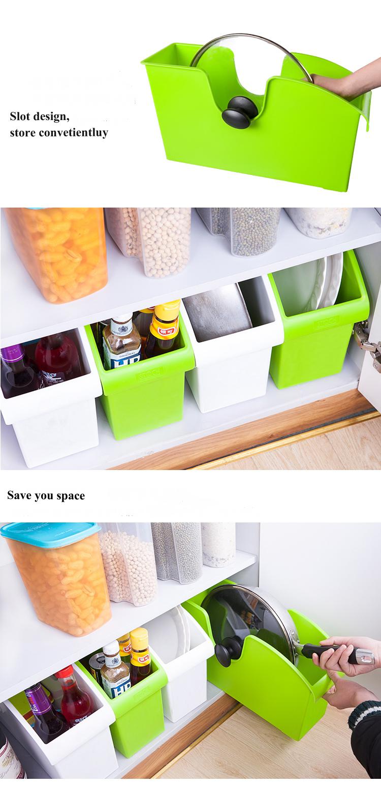plastique multifonctionnel bo te de rangement de cuisine haut de gamme avec des roues de. Black Bedroom Furniture Sets. Home Design Ideas
