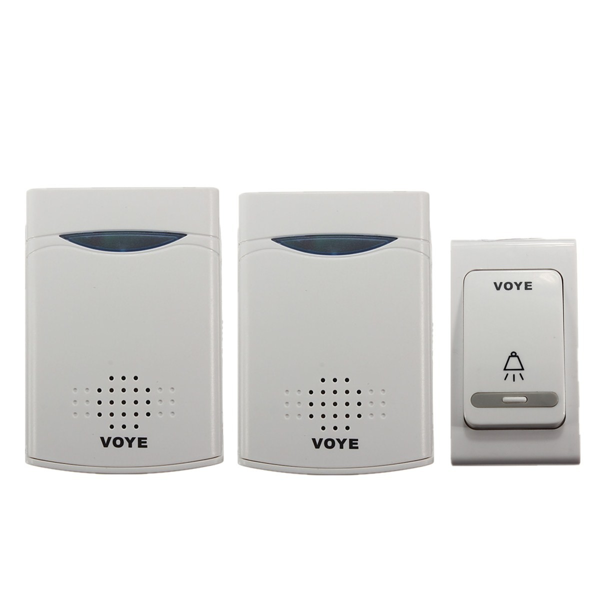 38 music chime wireless door bell 1 remote control 2 for 1 by one door chime