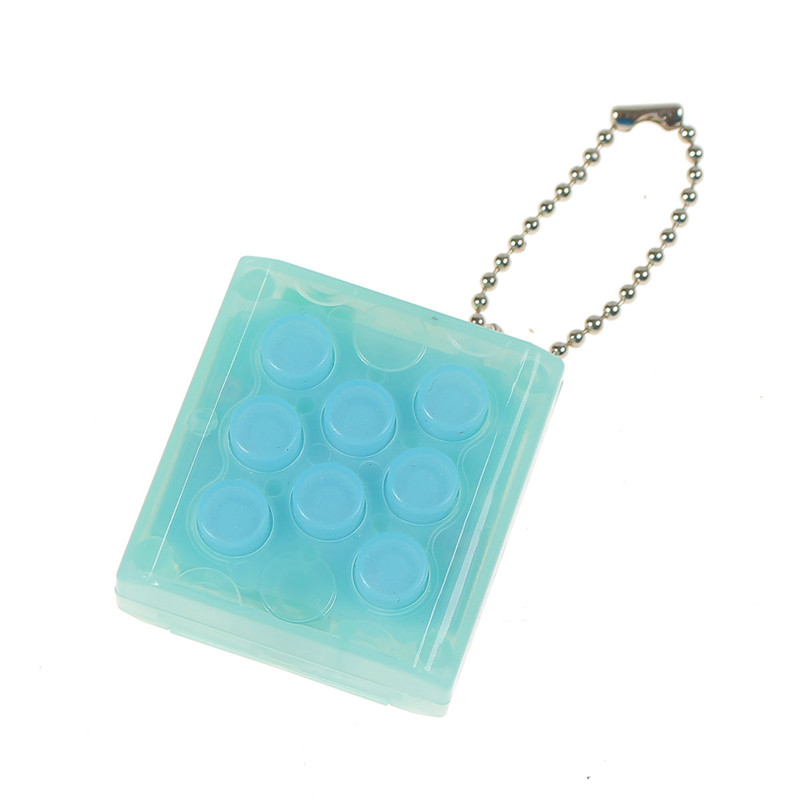 Puchi Stress Reliever Squeeze Bubble Packing Crazy Gadget Endless Pop Pop Wrap Key Chain - Photo: 5