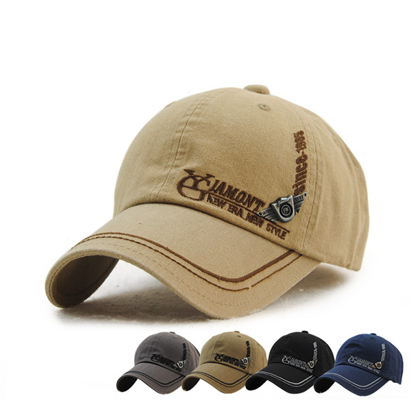 Buy Mens Washed Embroidery Letter Golf Hip-hop Caps Sports Adjustable Outdoor Snapback Hat