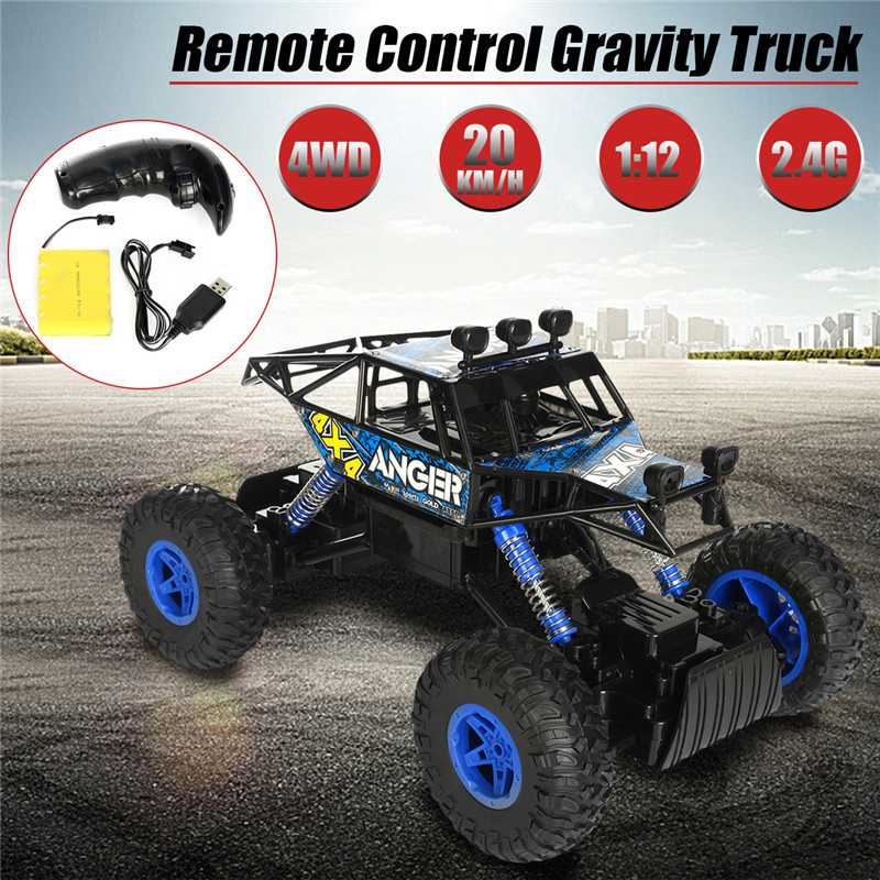 1/14 2.4G 4WD RC Rally Car 4x4 Driving Double Motor Rock Crawler Off-Road Truck RTR Toys