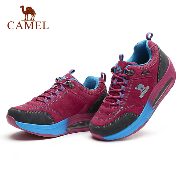 CAMEL Outdoor Women Hiking Shoes BreathablE-mountaineering shoes Lace Up Walking Shoes