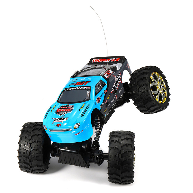 NQD 1/10 Remote Control 4WD Off Road Rock Crawler King RC Car Red Head 40MHz