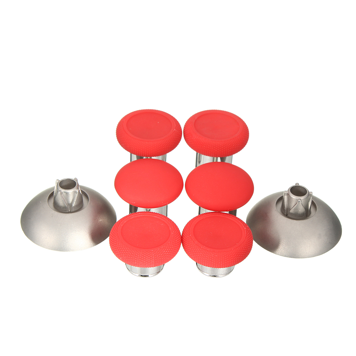 Buy Red Elite Swap Thumbstick Analog Grips (8pcs) for PS4&Xbox One Controllers