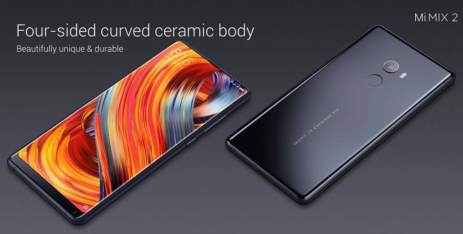 Xiaomi Mi MIX 2 Global Bands 5.99 inch 6GB RAM 256GB ROM Snapdragon 835 Octa core 4G Smartphone