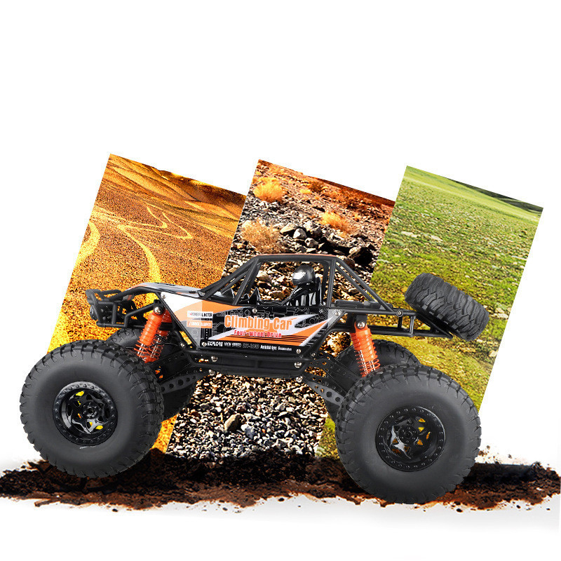 MZ 2837 1/10 2.4G 4WD RC Racing Car High Speed BigFoot Off-Road Waterproof Truck With Light Toys