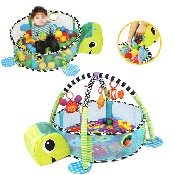 Infant Toddler Baby Play Set Activity Gym Playmat Floor