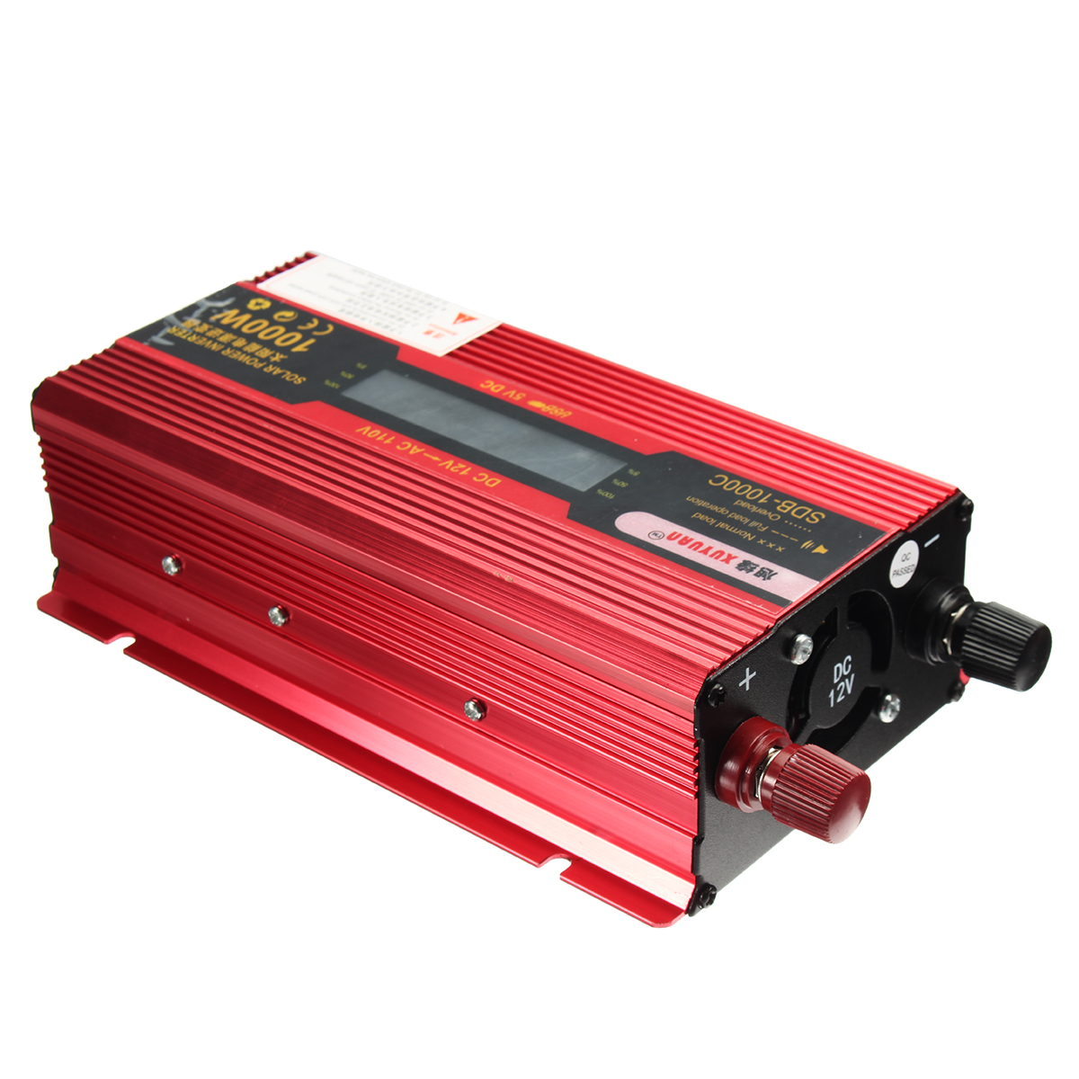 Other Gadgets - 1000W Solar Power Inverter 12V to 110V LCD