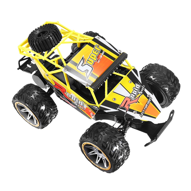 1815-5 1/16 2.4G 20KM/h Racing RC Car All Terrain Veehicle Skeleton Truck Toys