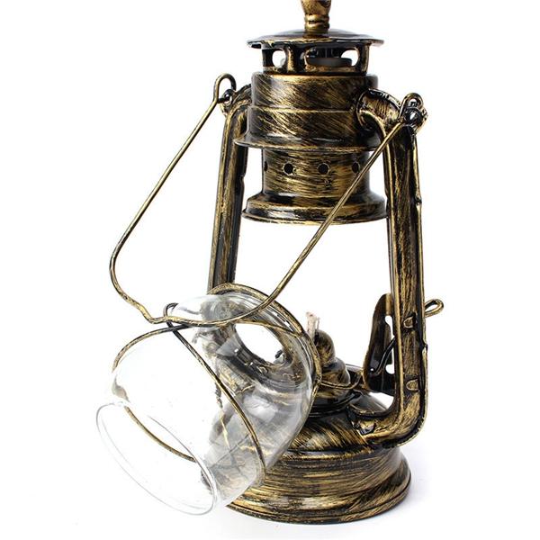 Rétro Antique Cru Extérieur Lampe De Mur Lanterne Bar Café