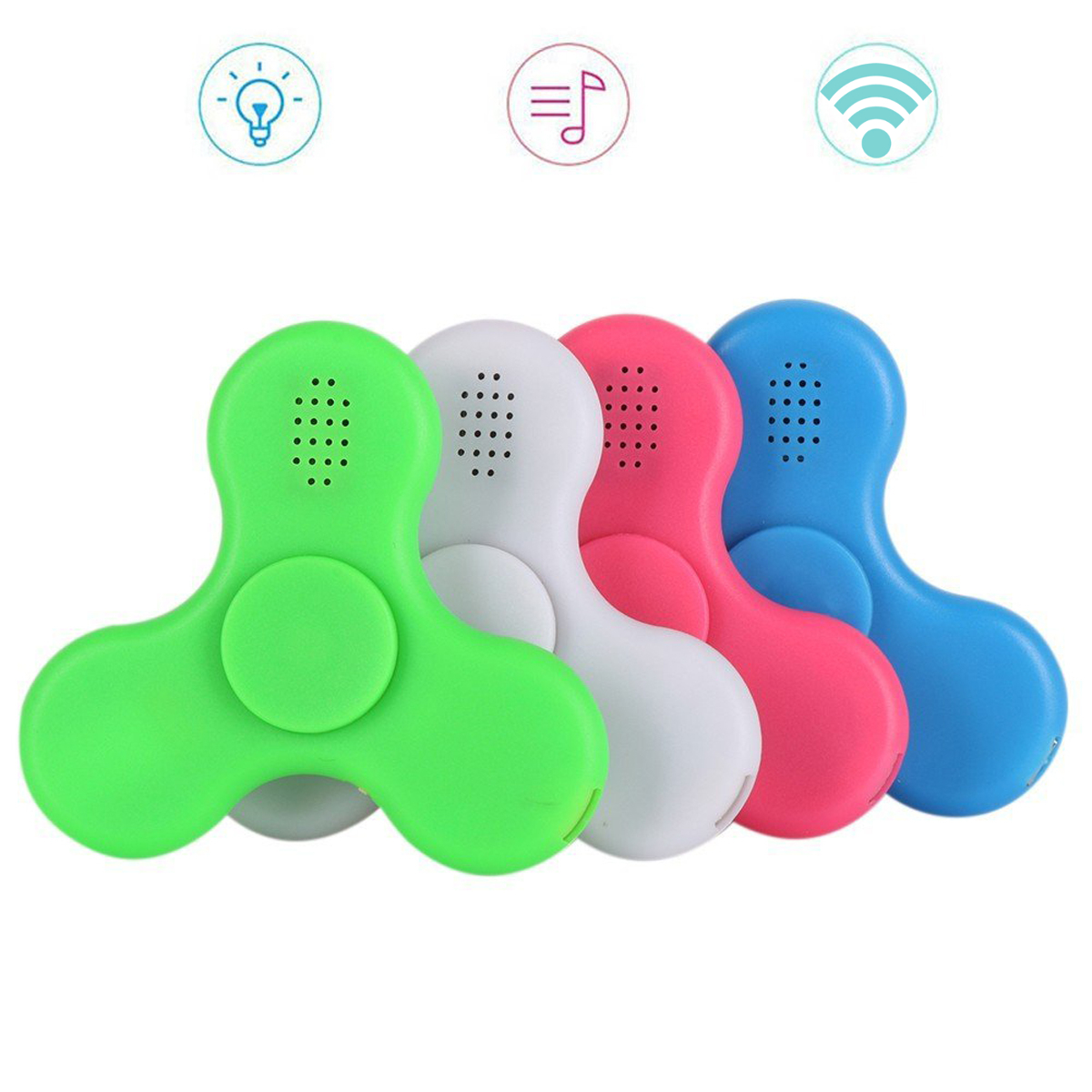 ECUBEE Bluetooth Music LED Hand Spinner