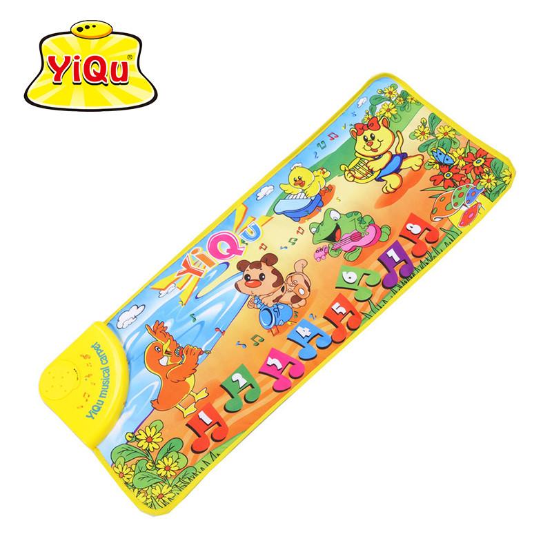 YiQu Animals dance company baby music carpet educational toys