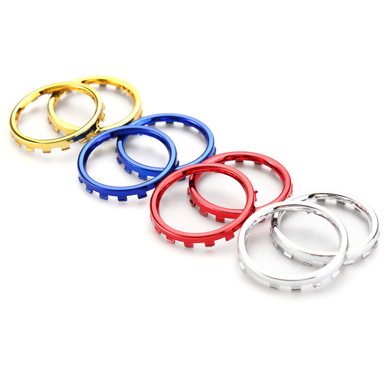 Chrome Thumbstick Handle Rocker Ring Replace For XBOX O