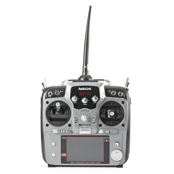 Radiolink AT10II AT10 II 2.4G 10CH Transmitter With R10DII Receiver Grey