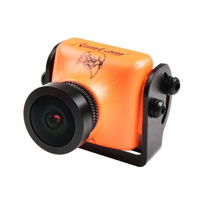 2PCS RunCam Eagle 2 800TVL CMOS 2.1mm 4:3 NTSC/PAL Switchable WDR FPV Camera Low Latency Orange